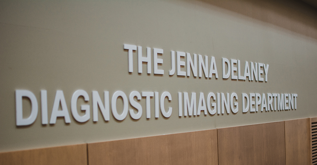 The Jenna Delaney Diagnostic Imaging Department