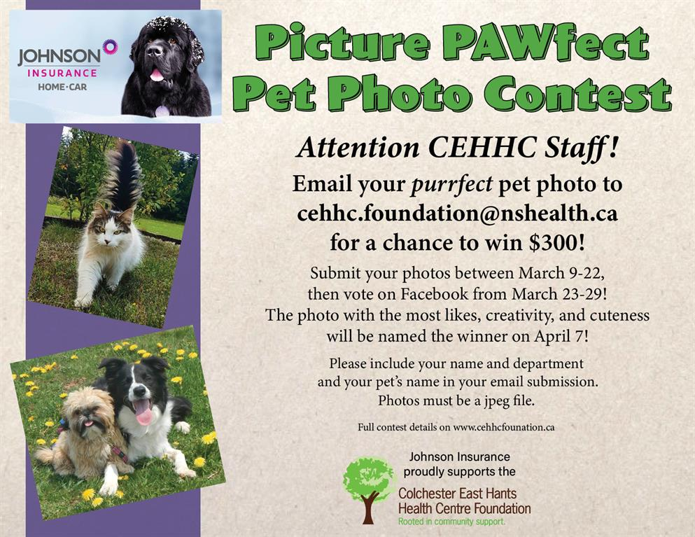 Johnson Pet Photo Contest